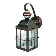 Antique Bronze Motion Sensing Outdoor Lantern Lamp Light Patio Porch Sensor NEW