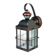 Antique Bronze Motion Sensing Outdoor Lantern Lamp Light Patio Porch Sensor NEW