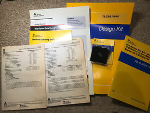 1997 Texas Instruments TLC 5510/40 Data Converter Design Kit