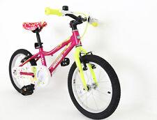 "KIDS GIRLS BIKE| BICYCLE WITH BALANCING WHEELS STABILISERS | 16""- 5-8 YEARS OLD"