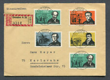 Germany - DDR : Great R-Cover from 1963 w/ complete set