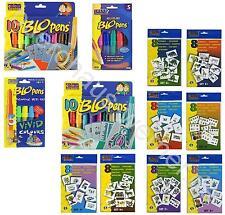10 x oder 5 x Pustestifte Blo Pens Pen Blopens Blopen Rainbow + Schablonen