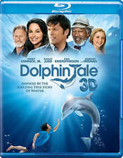 Dolphin Tale (Blu-ray/DVD, 2011, 3-Disc Set, Canadian French 3D) VERY GOOD
