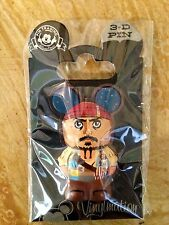 NEW DISNEY CAPTAIN JACK SPARROW PIRATES OF CARIBBEAN VINYLMATION 3D TRADING PIN