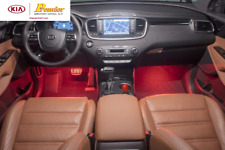 2016-CURRENT KIA SORENTO RED INTERIOR LIGHTING KIT   C6F55 AC101