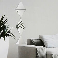 5er Set Spiegelfliesen 40cm Klebespiegel Fliesenspiegel Wandspiegel Wandfliesen