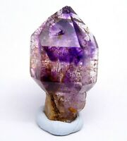 26.4g High Quality Gem Amethyst Scepter with Red Hematite Inclusions  Y00851