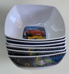 Disney Cars Lenticular Bowl and Lenticular Tumbler Bundle NEW