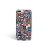 Henna Mandala New iPhone XR XS Max Colorful Cover iPhone 6s 7 8 Plus Ultra Thin