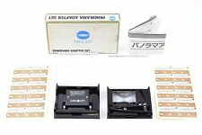 *Mint in Box* Minolta Panorama Adapter Set From Japan #596
