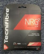 Tecnifibre NRG2 16 Gauge 1.32mm Tennis String NEW Natural