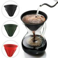 Silicone Filter Cup Reusable Hand Brew Coffee Funnel Modern Travel Home Kitchen