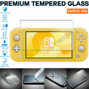 for Nintendo Switch Lite 100% Genuine TEMPERED GLASS Screen Protector Cover