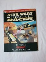 Star Wars Episode 1 Racer Official Nintendo 64 N64 Strategy Player's Guide