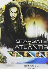 STARGATE ATLANTIS Complete Fourth Season 4 DVD 5 Disc Set NEW Factory Sealed