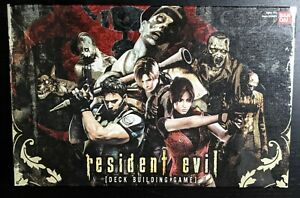 Bandai Capcom Resident Evil Deck Building Card Game Tabletop Game