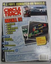 Circle Track Magazine Rollcage & A.J. Foyt May 1993 081315R