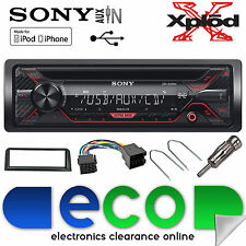 Peugeot 106 Sony CDX-G1200U CD MP3 USB Aux-In Ipod Iphone Car Radio Stereo Kit
