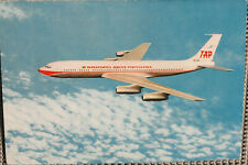 AK Airliner Postcard TAP B.707 airline issue