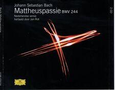 CD JAN ROTmattheuspassie BWV 2442CD EX+  (B0290)
