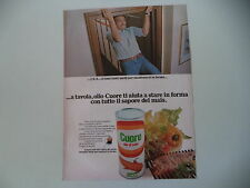 advertising Pubblicità 1976 OLIO CUORE