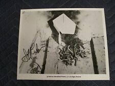 Squirm Photo Signed by Jeff Lieberman(Director)