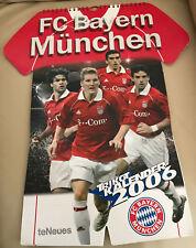 FC Bayern München Trikot Kalender 2006 te Neues - 23 Abbildungen