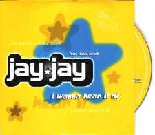 Jay Jay - I Wanna Hear It DJ - CDS - 1998 - House Trance 2TR Card Panic Records