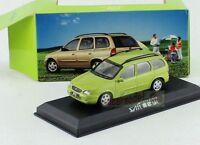 1:43 China GM buick SAIL 1.6L SRV Car model Diecast Green