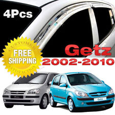 For Hyundai Getz 5d 2002-2011 Window Side Visors Sun Rain Guard Vent Deflectors