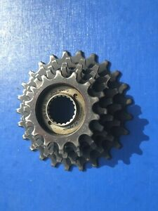 """VINTAGE ATOM 5 SPEED FREEWHEEL,14-25 TOOTH,ENGLISH THREAD,3/32"""" IN EXC COND"""
