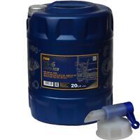 20 Liter Motoröl MANNOL TS-6 UHPD Eco 10W-40 API CI-4/SL LKW NKW + Auslaufhahn