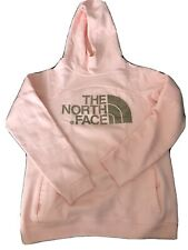 The North Face Girls Pink Fleece Hoodie Jacket Size XL (14-16 Years) New With Ta