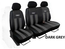 """VOLKSWAGEN T5 2003-2015 ECO LEATHER & ALCANTRA TAILORED SEAT COVERS """"GT"""""""