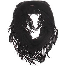NWT VANS OFF THE WALL (REBEL RIOT) INFINITY SCARF BLACK ACRYLIC ONE SIZE