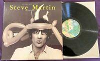 Steve Martin Let's Get Small Vinyl LP Warner Bros Records BSK-3090 With Photo