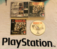 Resident Evil 1 PS1 PS2 PS3 Sony Playstation 1 Complete UK PAL Black Label