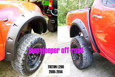 Jungle Off-Road 4x4 Mitsubishi L200 Triton MN ML FENDER FLARES FLARE WHEEL ARCH