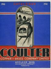 1941 CATALOGUE COULTER COPPER AND BRASS COMPANY Toronto Automotive PARTS Grills