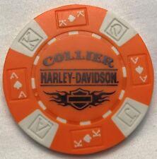 Collier Harley-Davidson® in Roanoke Rapids, NC Poker Chip Orange/White NEW