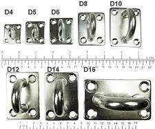 Edelstahl Wandhalterung, Deckenhalterung, Wandhaken Haken, 4 5 6 8 10 12 14 16mm