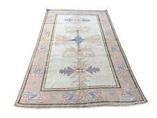 Faded Carpet, Oushak Rug, Design Rug, Traditional Carpet, Vintage Turkish Carpet