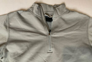 Obermeyer Junior Winter Ski Shirt Fleece Lined Size Large Gray