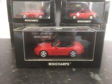 Minichamps Porsche 968 Cabriolet Red 1994 1/43 MIB Ltd Ed