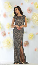 SALE! CAP SLEEVE PROM EVENING FORMAL GOWN RED CARPET LONG SPECIAL OCCASION DRESS