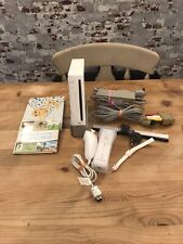 Nintendo Wii RVL-001 White Edition Bundle Wii Sports Game Controller Nunchuk
