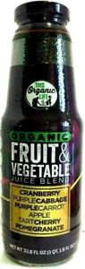 This Organic Life Fruit & Vegetable Juice Blend 1.8 oz ( Pack of 6 )