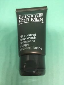 Clinique for Men Oil control face wash 30ml New large travel holiday size