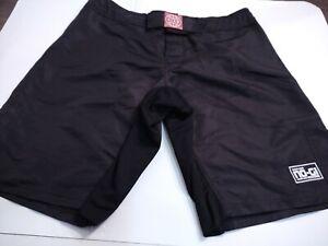 TATAMI Men's 100% Nylon 2XL XXL BLACK Grappling Boxing Shorts