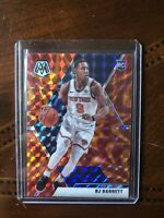 2019-20 Panini Mosaic Orange Reactive Prizm #229 RJ Barrett RC Rookie Knicks